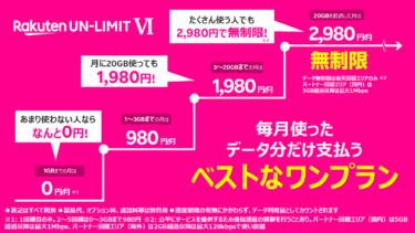 【口コミ・評判】田舎者が楽天モバイルのUN-LIMIT Ⅵを使ってみた!